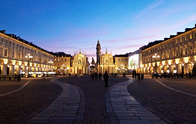 """Piazza San Carlo, il """"Salotto di Torino"""""""