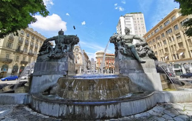 Fontana Angelica Torino