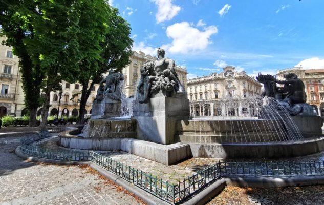 Simboli esoterici a Torino: la Fontana Angelica di Piazza Solferino