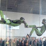 Il Fly Experience di Torino, il primo wind tunnel d'Italia
