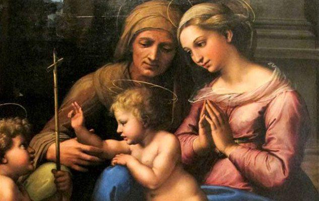 Raffaello: La Madonna Del Divino Amore