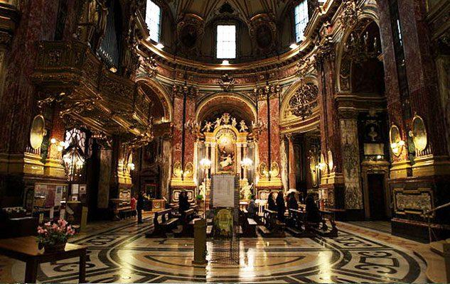 Le 5 pi belle chiese del centro di torino - Armatura dell immagine del dio ...