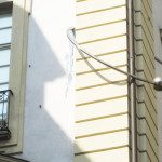"""Curiosità a Torino: """"Baci Rubati"""", ovvero il palazzo con il piercing"""