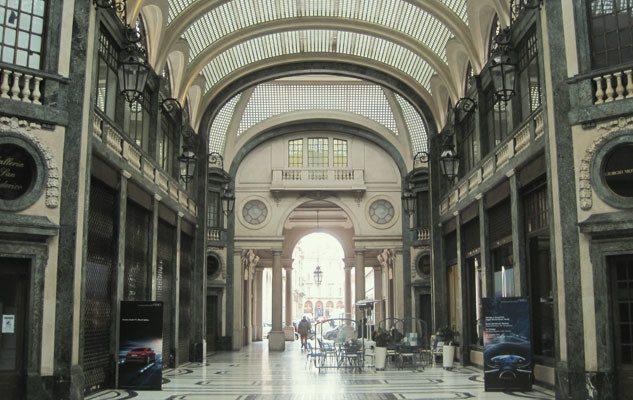 Galleria San Federico di Torino: antiquariato, storia e cinema