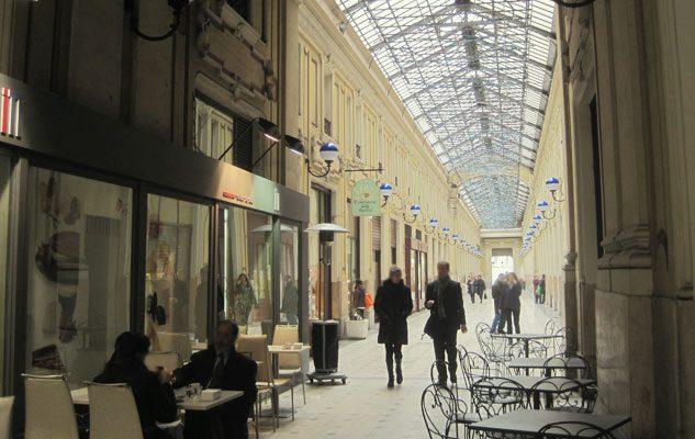 La Galleria Umberto I di Torino