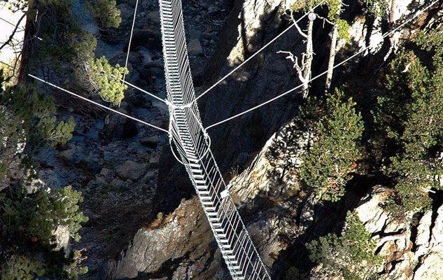 Il Ponte Tibetano più lungo del mondo è in Piemonte