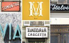 """""""Lettering da Torino"""", un viaggio tra le insegne, le targhe e le iscrizioni della città"""
