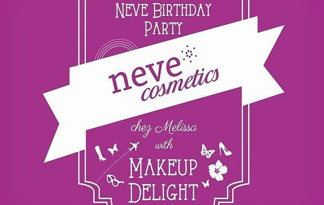 Neve Cosmetics Birthday Party!
