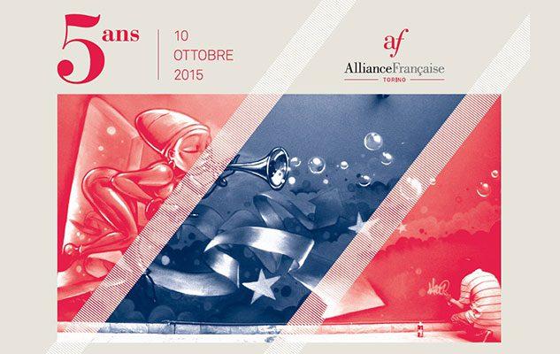 L'Alliance Française di Torino festeggia 5 anni