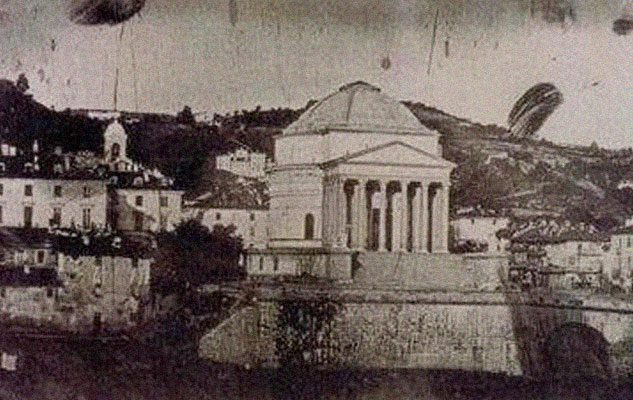 La storia della prima foto di Torino e del suo autore