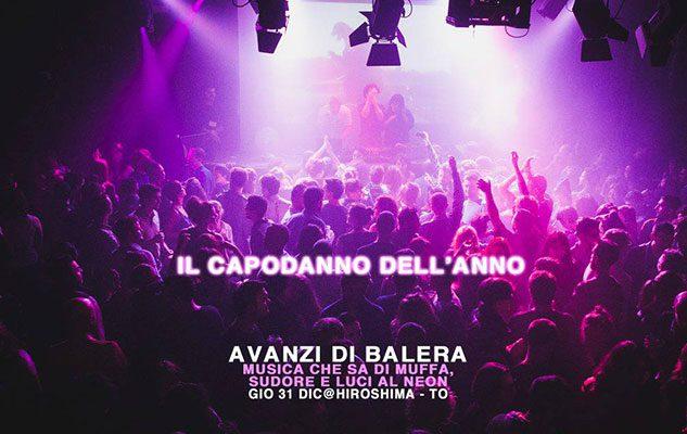 Avanzi di Balera – Capodanno 2016 a Torino