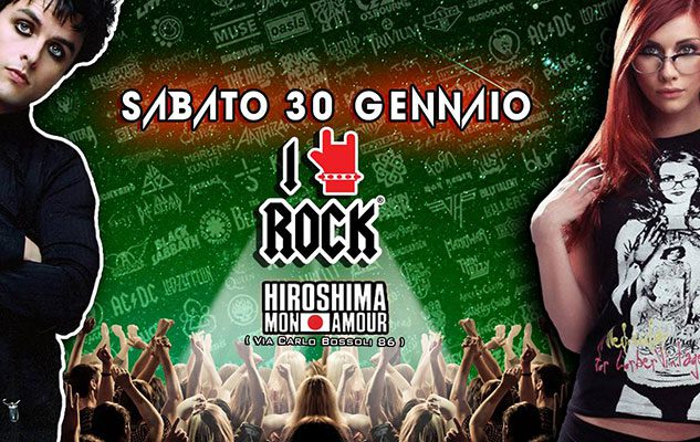 I Love Rock Party + Finale regionale di Air Guitar