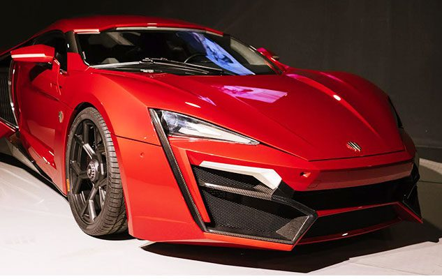 La W Motors Lykan Hypersport di Fast And Furios 7 al MAUTO