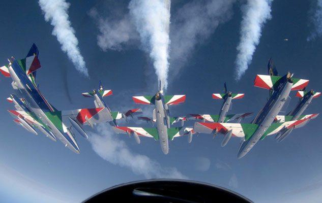 Centenario Aeritalia: Air Show, Frecce Tricolori e Volo in Mongolfiera