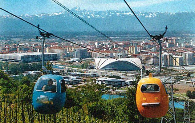 L'Ovovia di Italia '61: quando a Torino si viaggiava in cielo