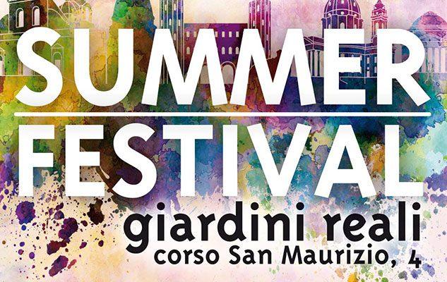 Summer Festival ai Giardini Reali
