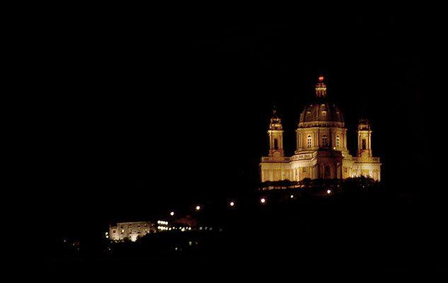 Basilica di Superga: apertura serale della cupola