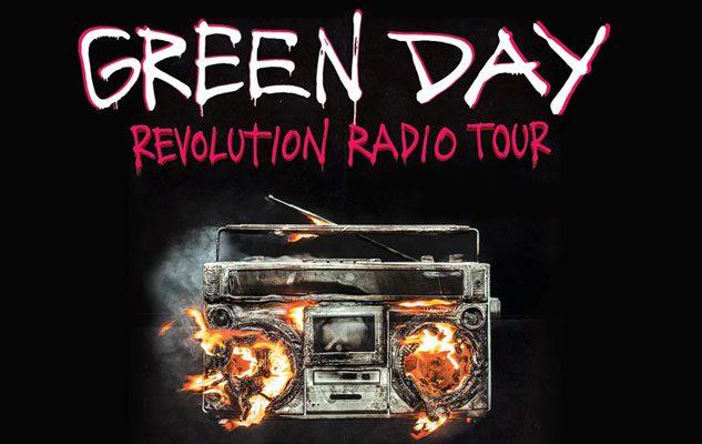 Green Day – prima tappa europea a Torino