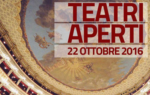 Teatri Aperti: visite e spettacoli gratuiti