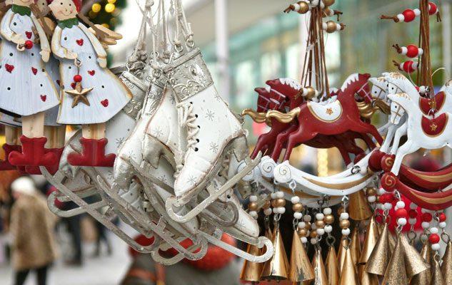 Mercatino di Natale in Piazza Castello