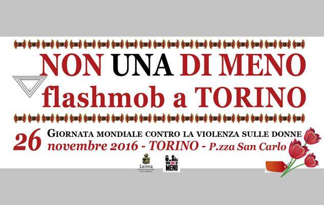 Non Una Di Meno – Flashmob Torino