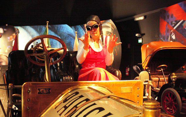 Babbo Natale al Museo dell'Automobile