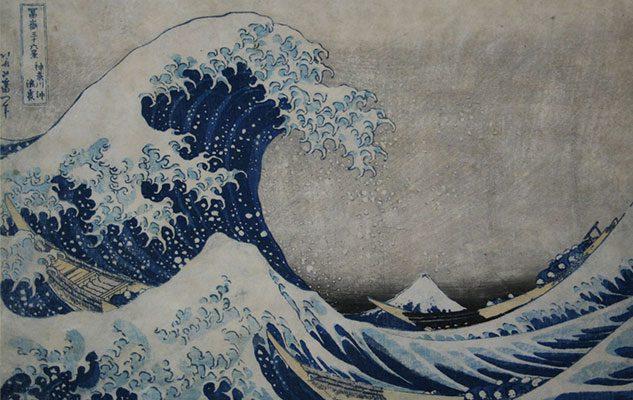 Hokusai. La grande onda a largo di Kanagawa