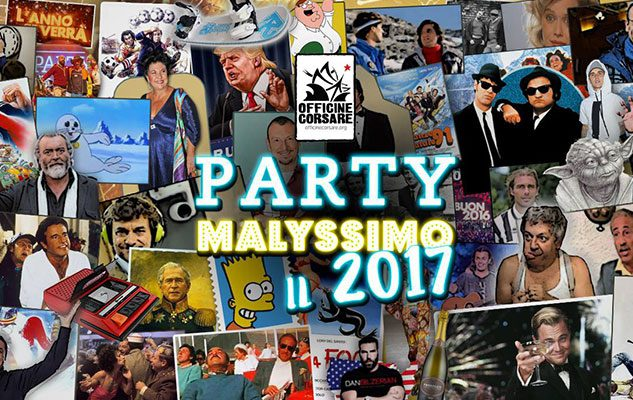 Party Malissimo – Capodanno 2017