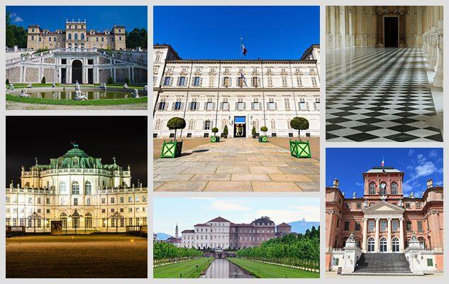 le 22 residenze reali di torino e del piemonte splendore
