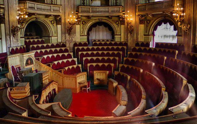Apertura straordinaria della Camera dei deputati del Parlamento Subalpino