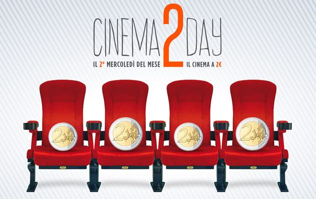 Cinema2Day: cinema a 2 euro