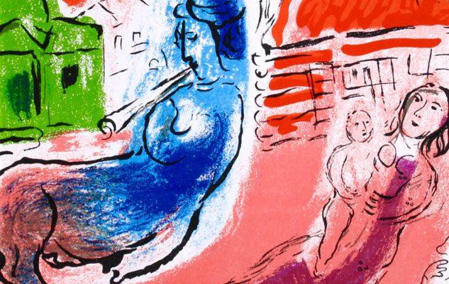 Marc Chagall – L'artista che dipingeva fiabe d'amore