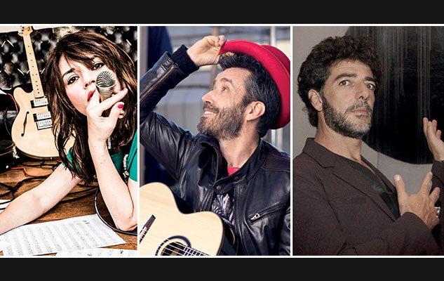 Carmen Consoli, Max Gazzè, Daniele Silvestri