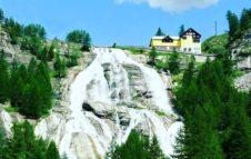 La Cascata del Toce, la più bella del Piemonte ed una delle più alte d'Europa