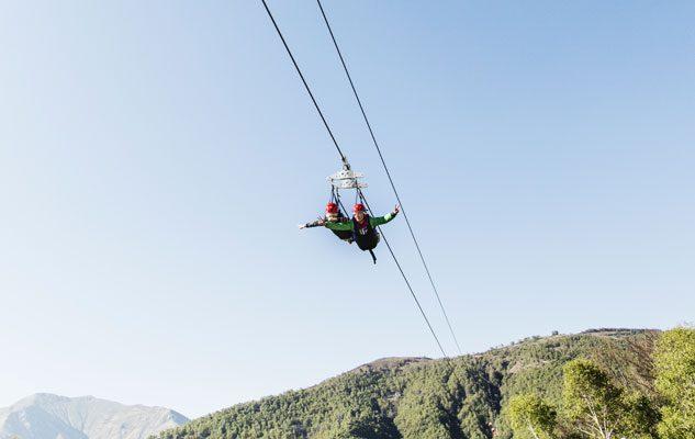 Zipline: volare appesi ad un filo tra le montagne del Piemonte