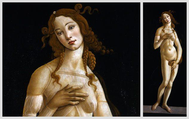 La Venere di Botticelli ai Musei Reali di Torino