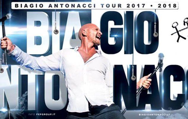 Biagio Antonacci in concerto a Torino