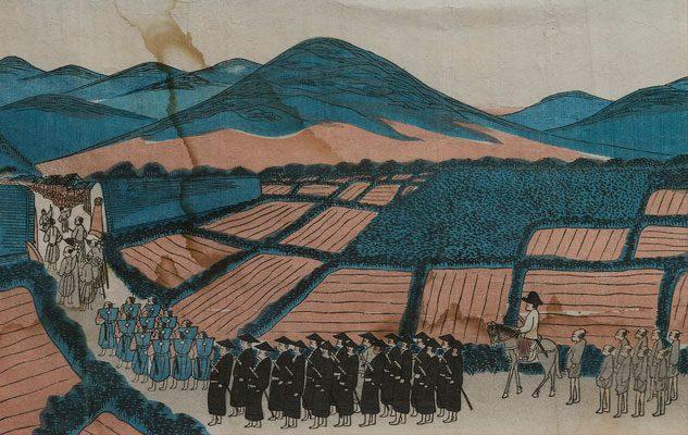 Per un filo di seta. 1867, L'Italia in Giappone