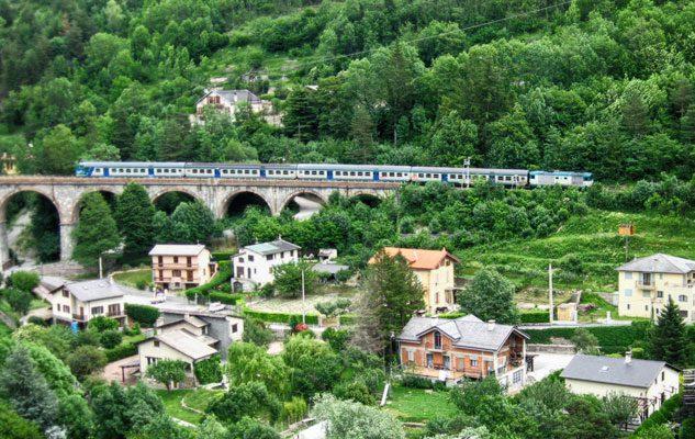 Torino-Cuneo-Nizza: la ferrovia panoramica eletta tra le 10 più belle del mondo