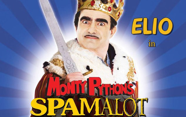 Elio a Torino con Spamalot, il musical-parodia della saga di Re Artù