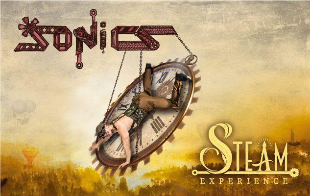 I Sonics al Teatro Nuovo con Steam Experience
