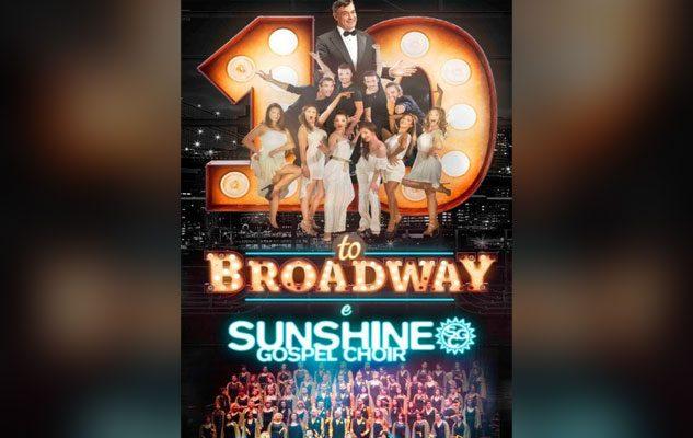 10toBroadway & Sunshine Gospel Choir: i più grandi musical della storia su un unico palco