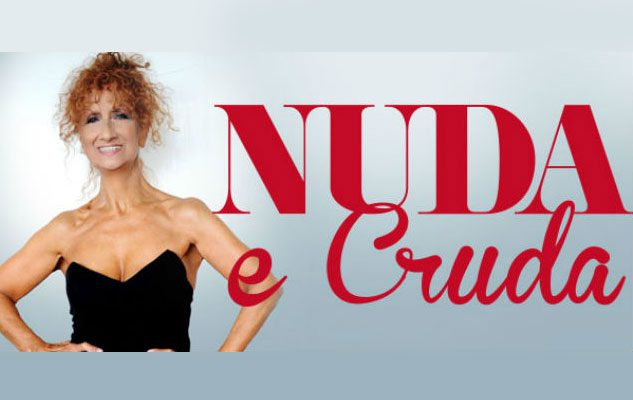 "Anna Mazzamauro a teatro con ""Nuda e Cruda"""