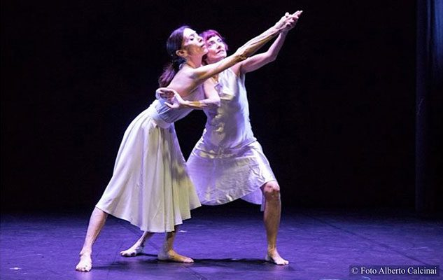 Luciana Savignano in Funambolia: l'étolie della danza a Torino