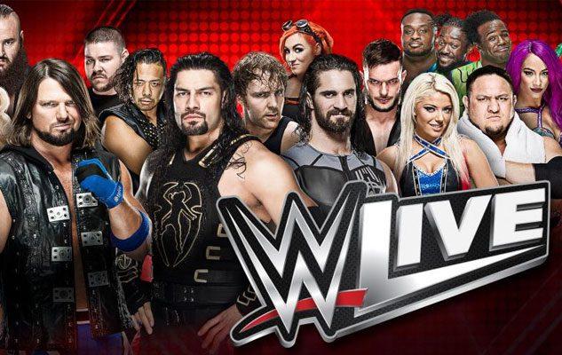 WWE Live 2018: a Torino le Superstar del Wrestling