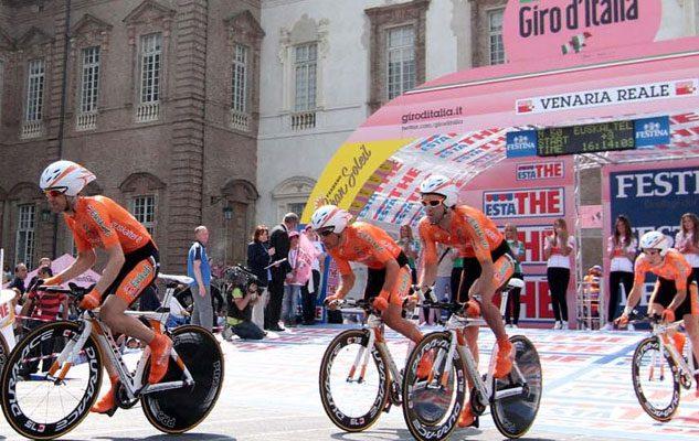 Giro d'Italia 2018 a Venaria Reale