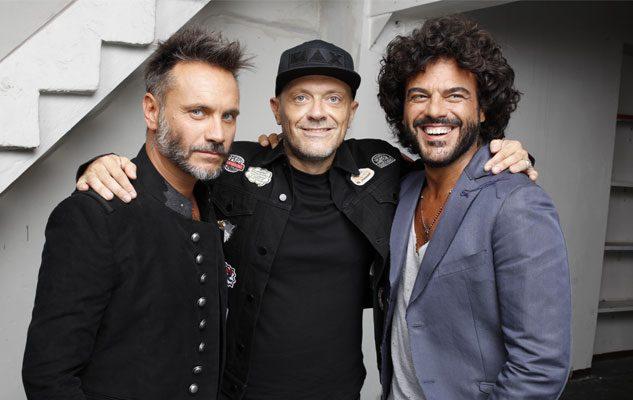 Max Pezzali, Nek e Francesco Renga in concerto al Collisioni 2018