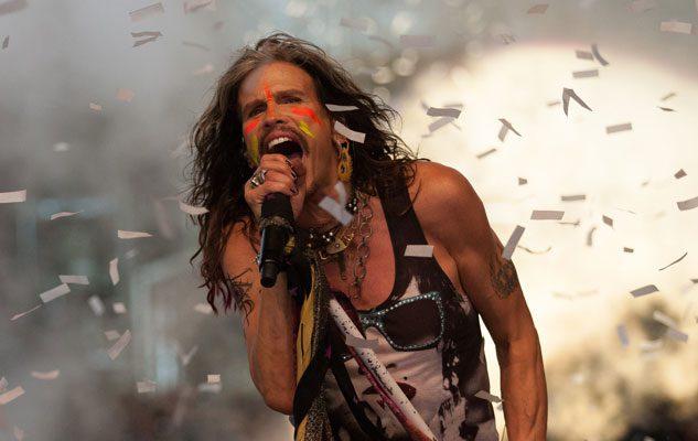 Steven Tyler, il frontman degli Aerosmith in concerto al Collisioni 2018