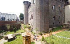 """Il """"Giardino della Principessa"""" di Palazzo Madama: oasi medievale nel cuore di Torino"""