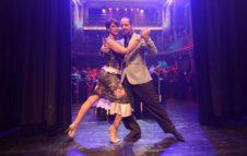 Milonga con Marcela y Stefano e il Club Almagro al Musichall